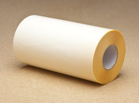 Double sided tape white liner
