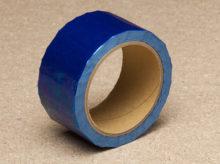 Tamper evident blue